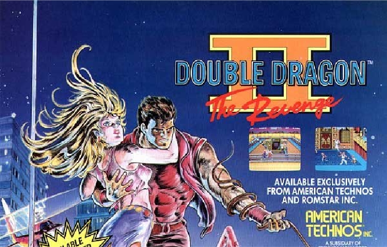 double dragon 2 the revenge arcade