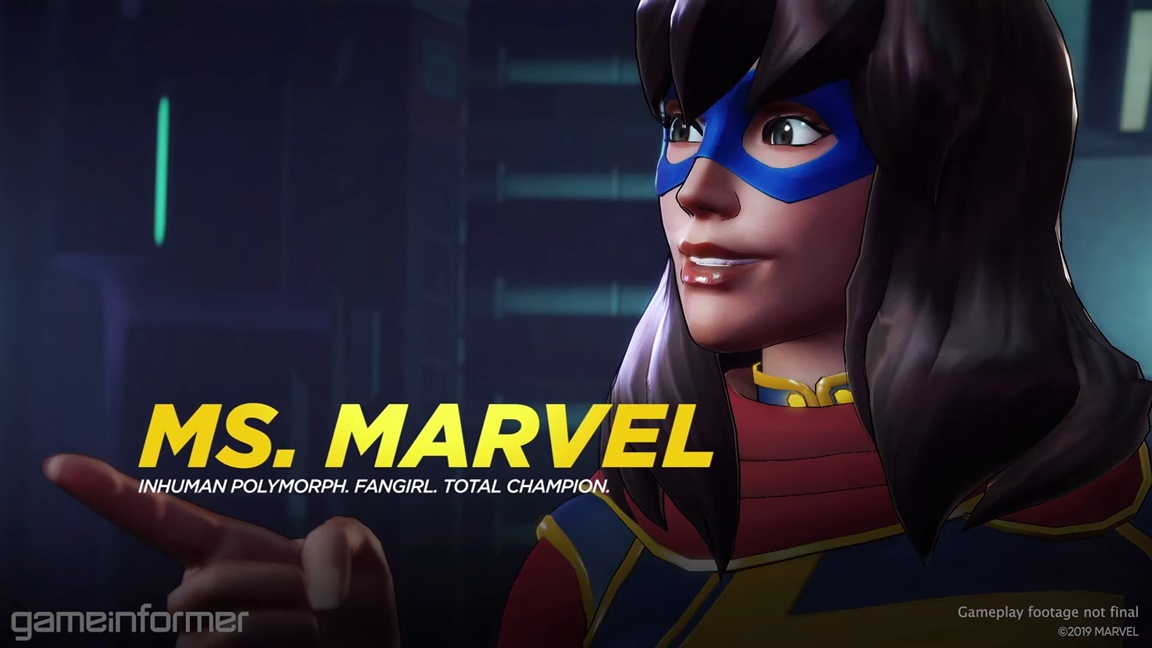 Miss Marvel - Marvel Ultimate Alliance 3