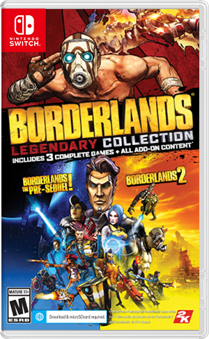 Borderlands Legendary Collection é anunciado para o Switch ...