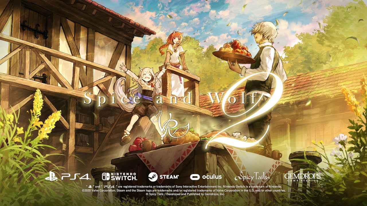 Spice and Wolf VR 2 Nintendo Swicht cover